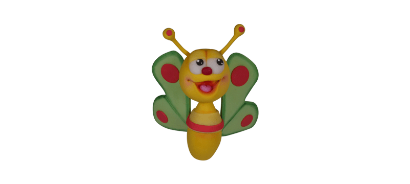 Butterfly From BabyTV – Fondant Cake Topper Tutorial