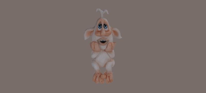 Booba – Fondant Cake Topper Tutorial