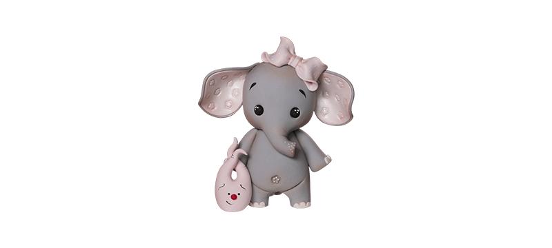 Elephant – Fondant Cake Topper Tutorial