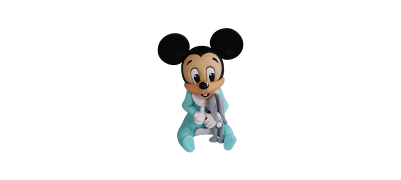 Baby Mickey Mouse – Fondant Cake Topper Tutorial