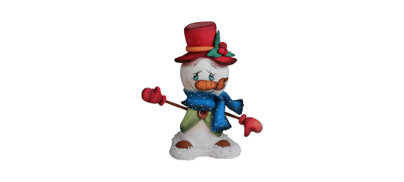 Snowman – Fondant Cake Topper Tutorial
